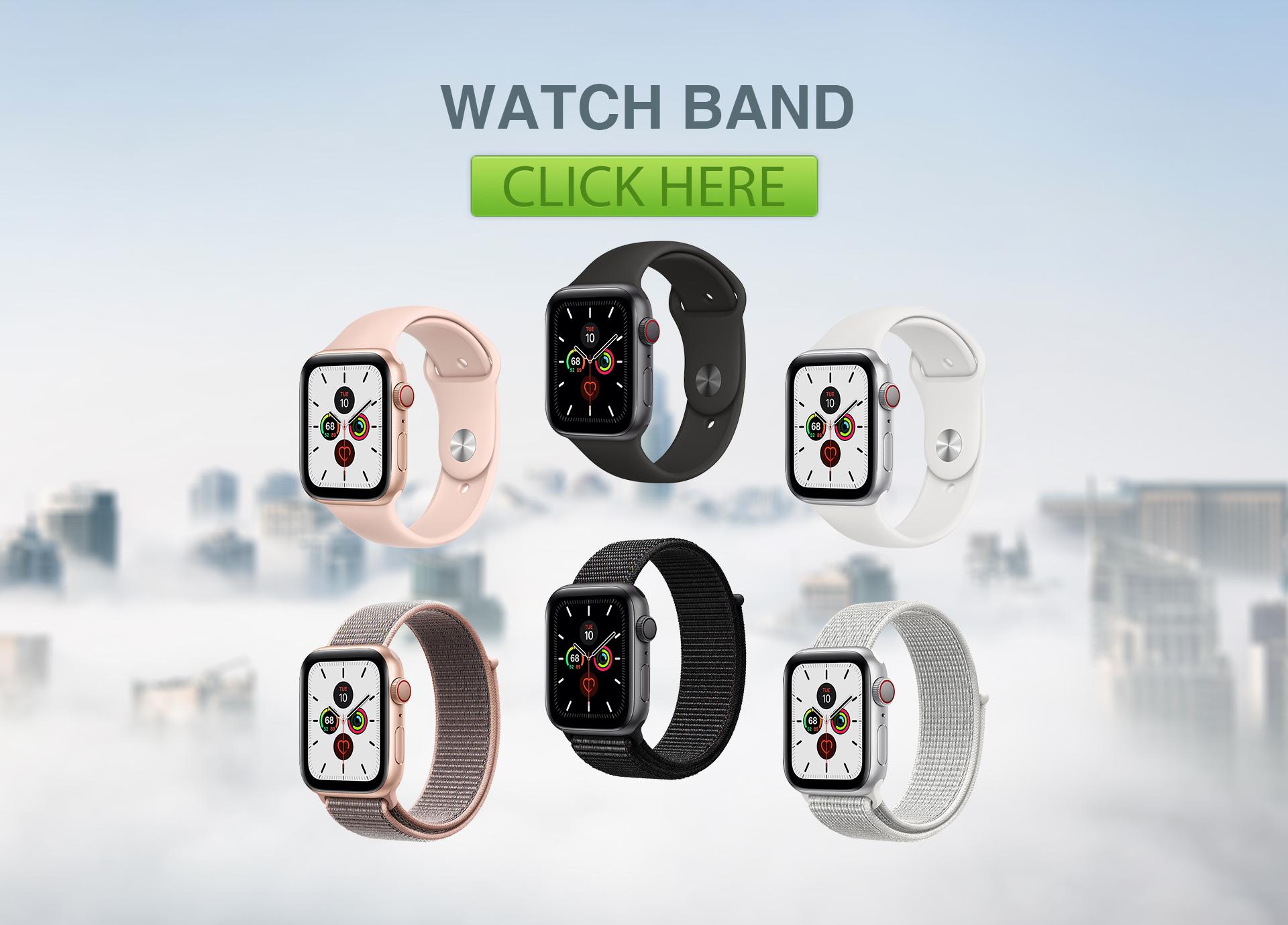 MP新账号宣传加硅胶苹果表带